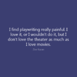 Playwriting.Vs.Movies